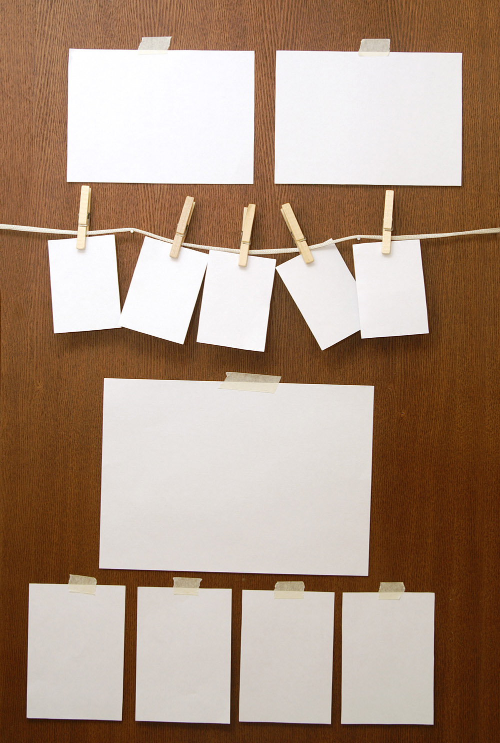 Blank paper picture 22976