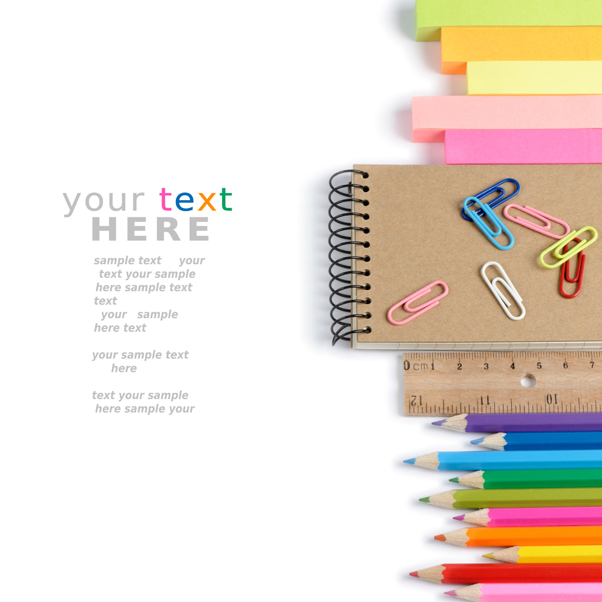 Color Stationery 30501