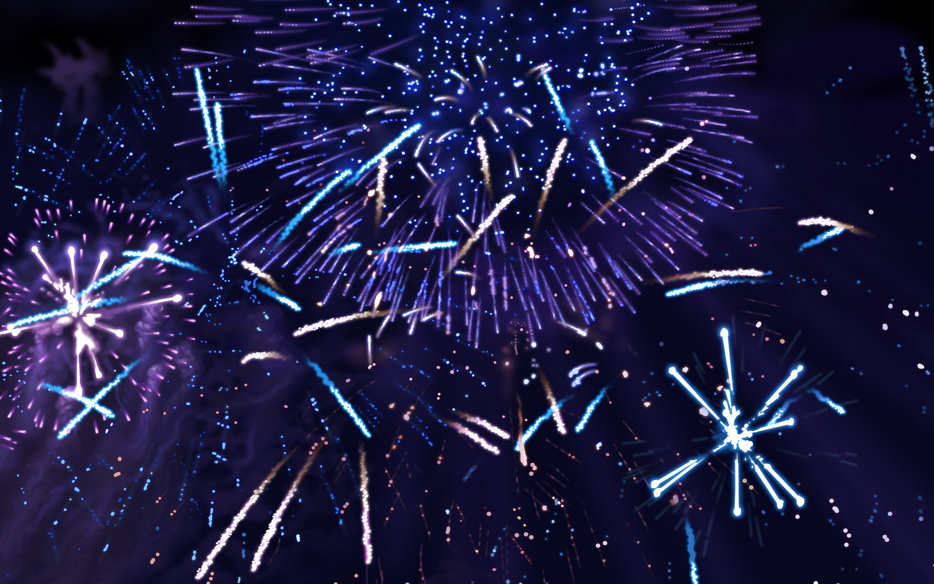 Colorful fireworks 3250
