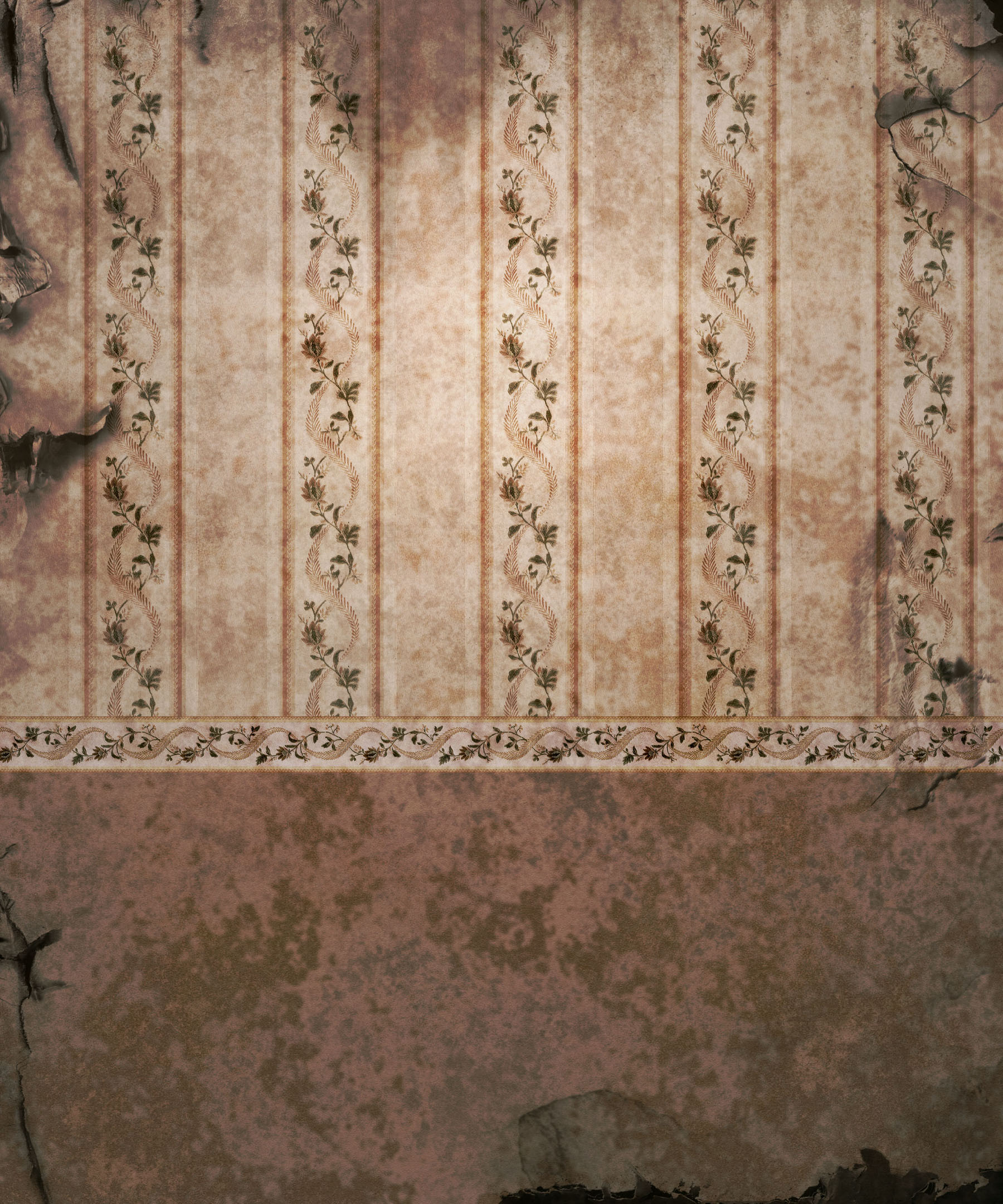 Old European-style wall wallpaper 12021