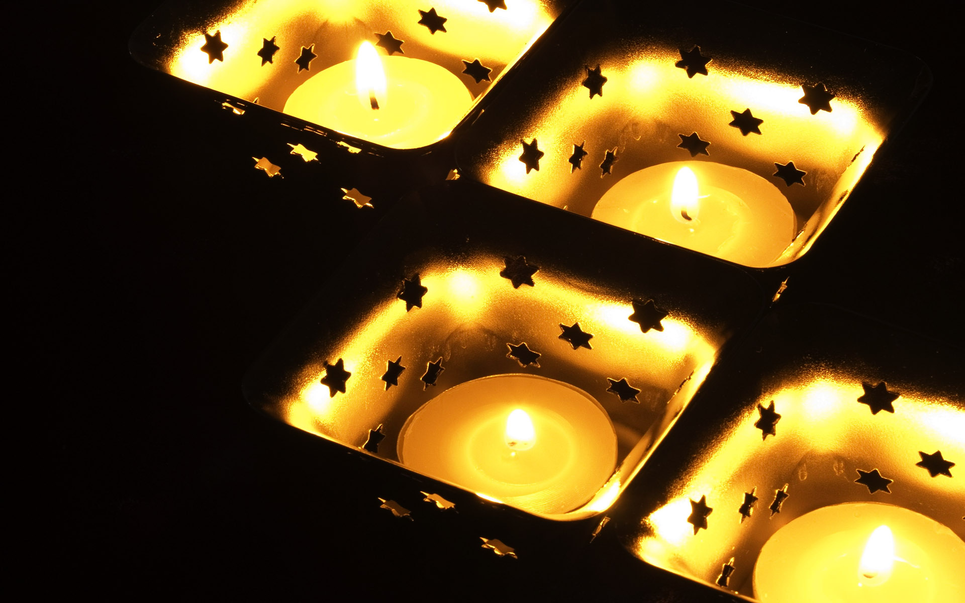 Candle wallpaper 6018