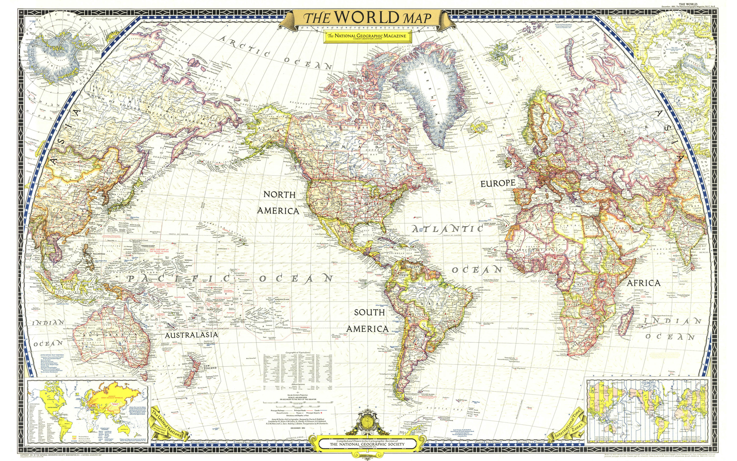 Large world map 15198