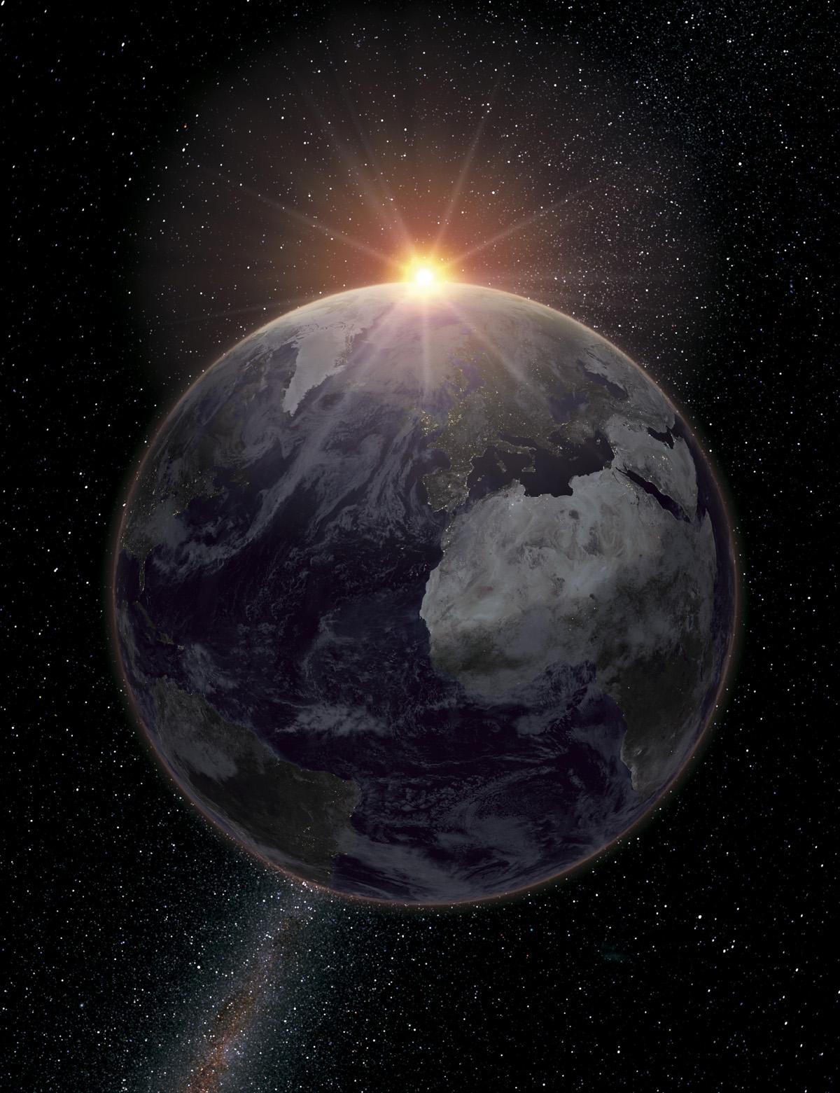 HD Planet Earth and the universe 16047
