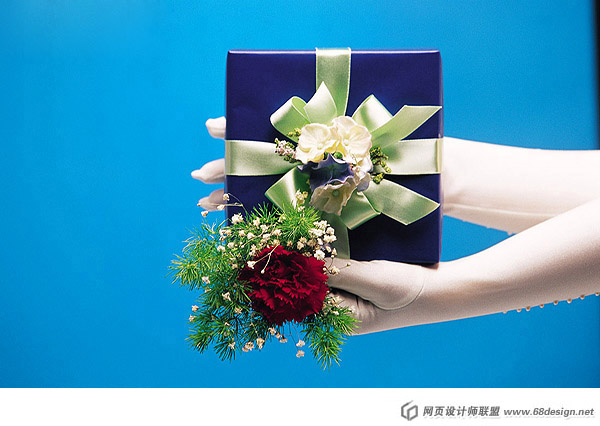 Fashion gift packaging material 18046