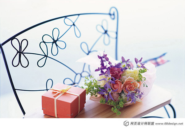 Fashion gift packaging material 6804