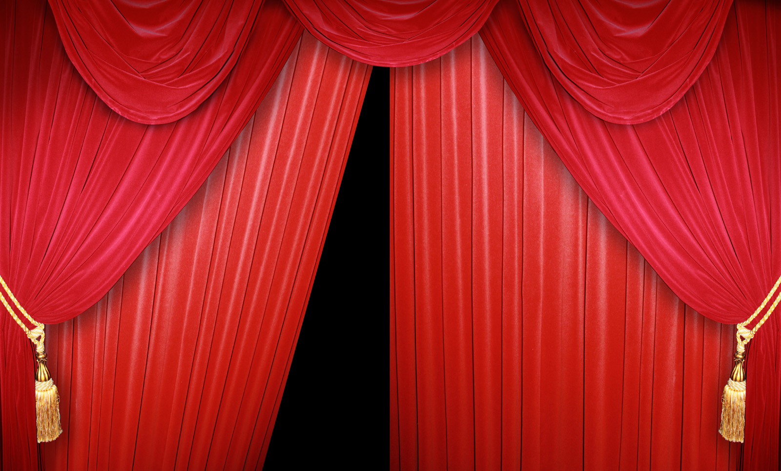 High-resolution red curtain 10363