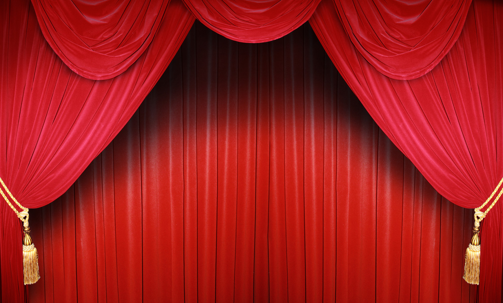 Highresolution red curtain 10464 Stage venue Others