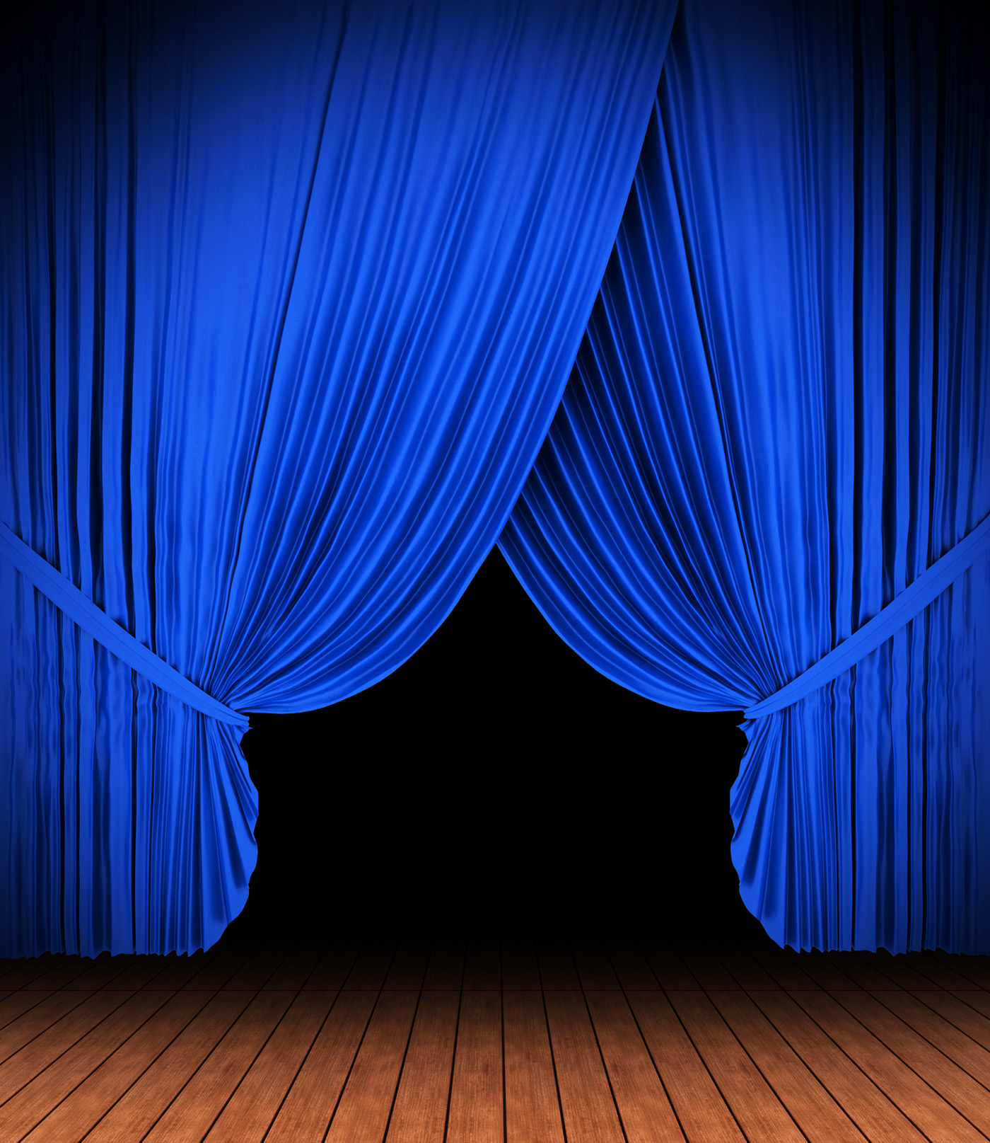 high blue light curtain 10565 stage venue others