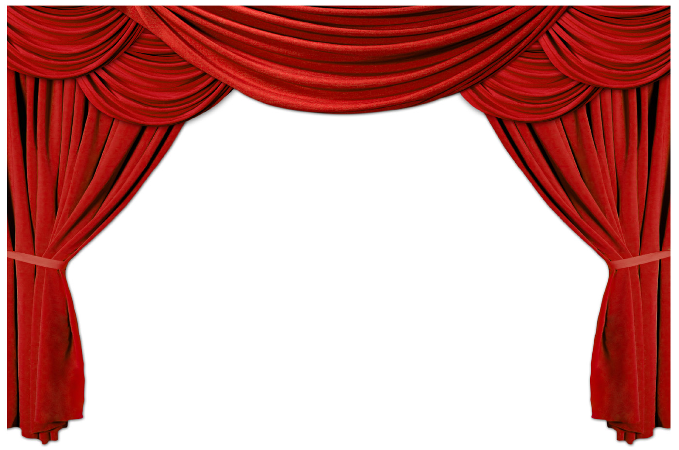 Red curtain curtain 11146