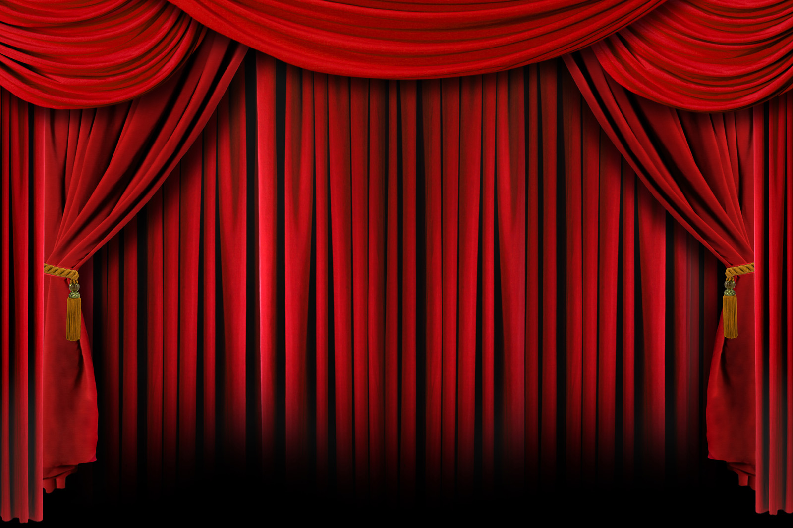 Red curtain curtain 11326