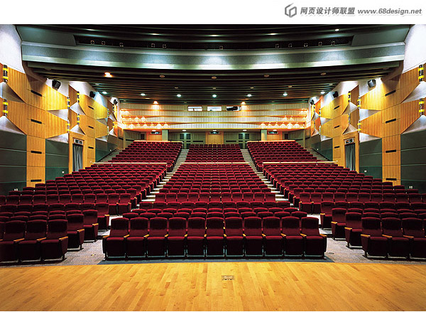 Stage venue material 6556