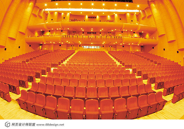Stage venue material 7414