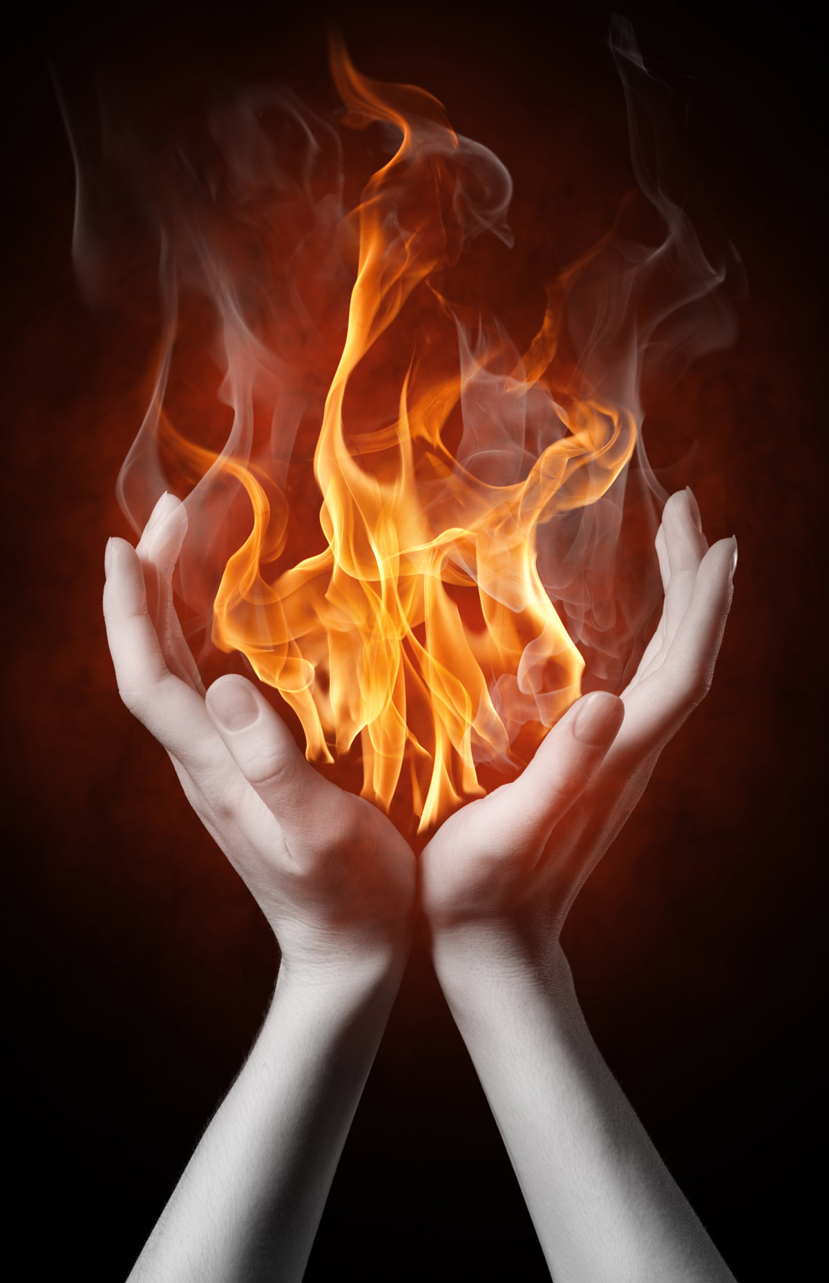 Burning hands 9635