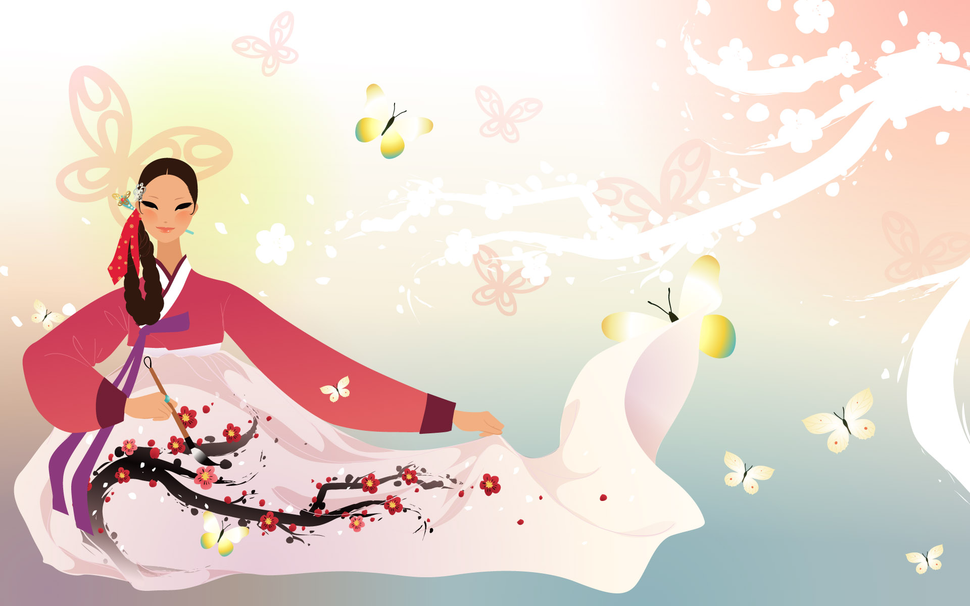 Korean women Wallpapers 6886