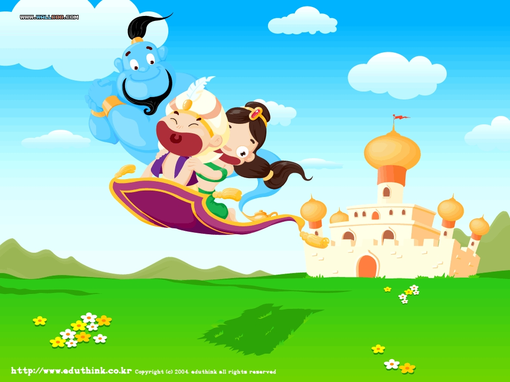 Cartoon wallpaper 16384 - Cartoon illustration wallpapers ...