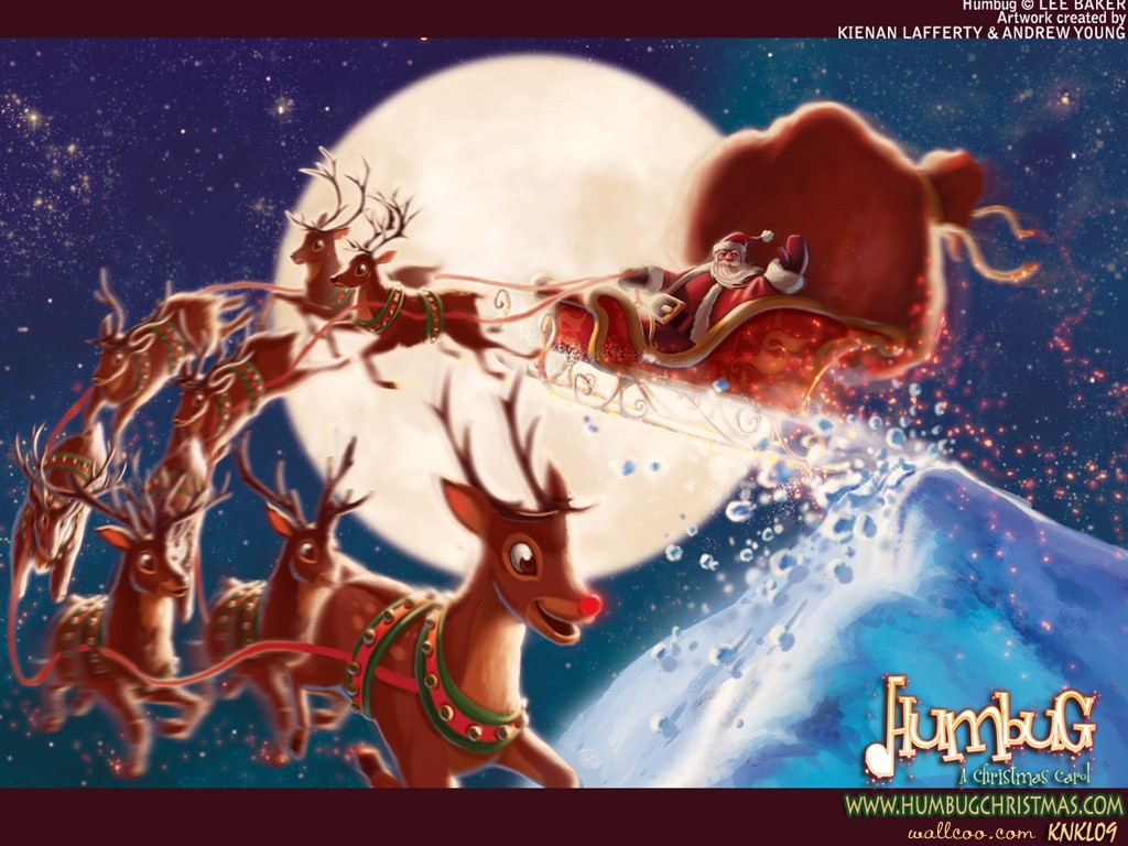 The Bugs A Christmas Carol illustrator wallpaper 30761