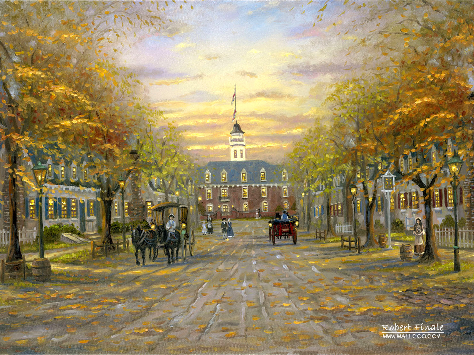 Romantic Painting the town 4976