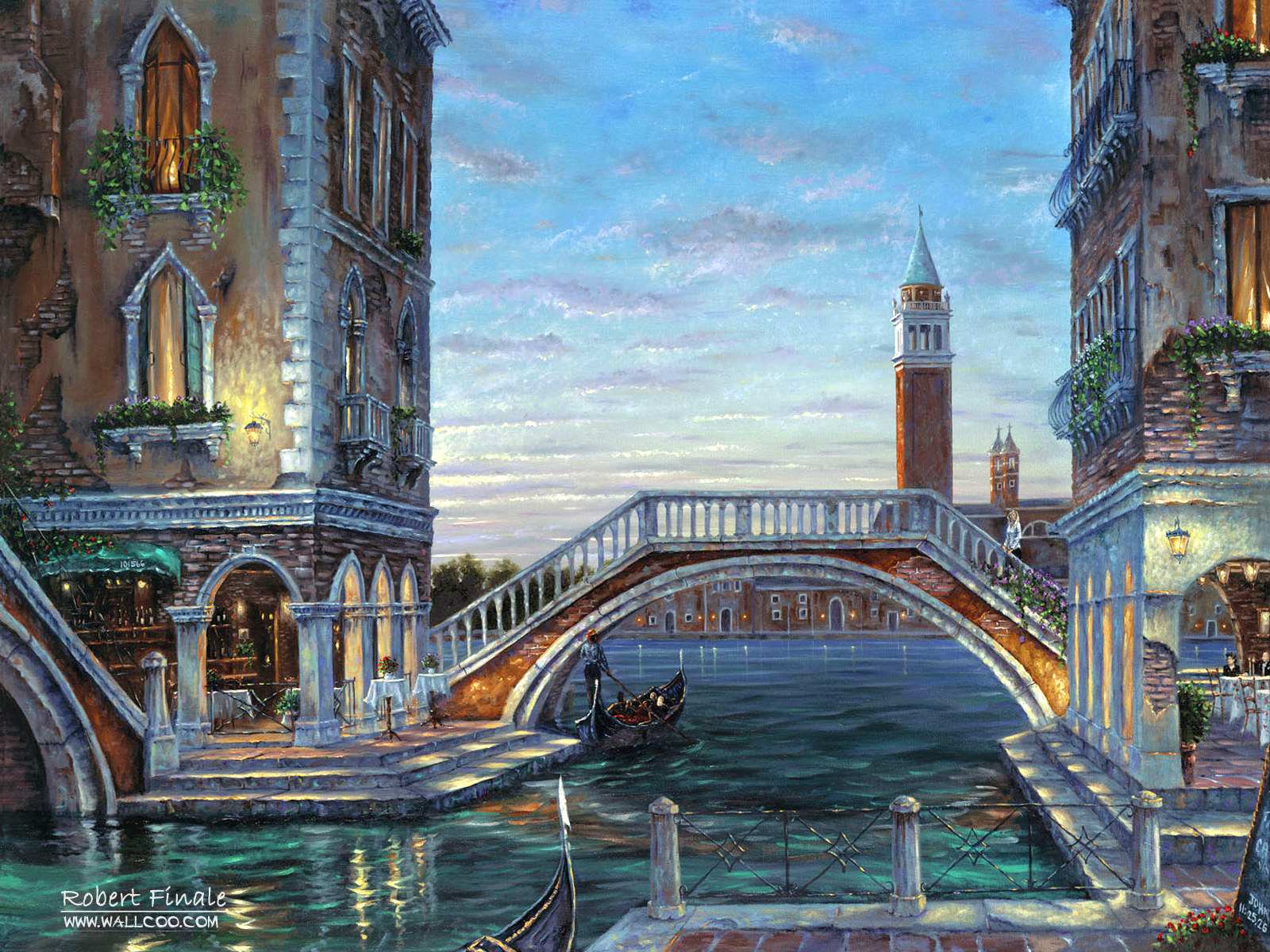 Romantic Painting the town 5262