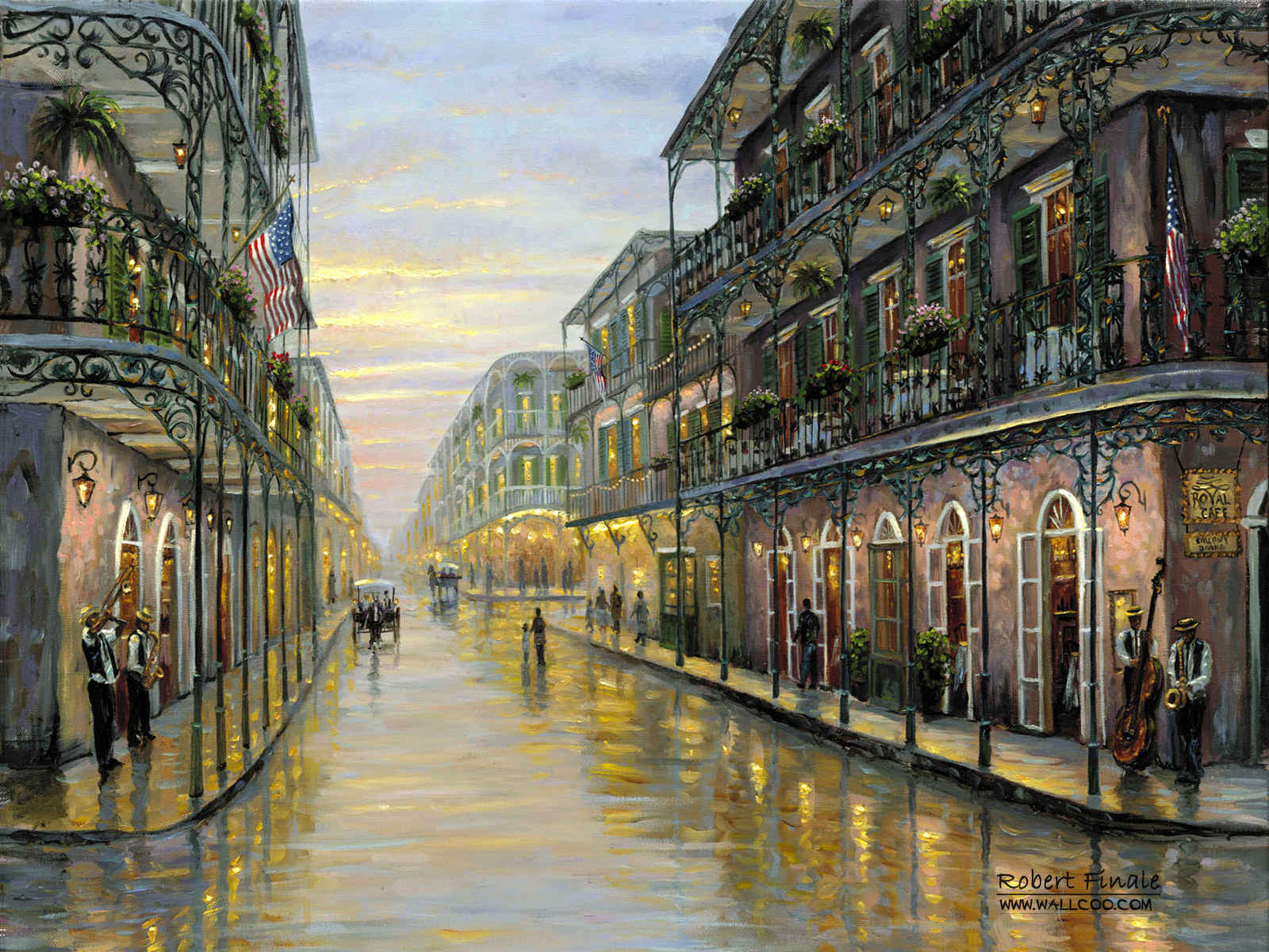 Romantic Painting the town 6110