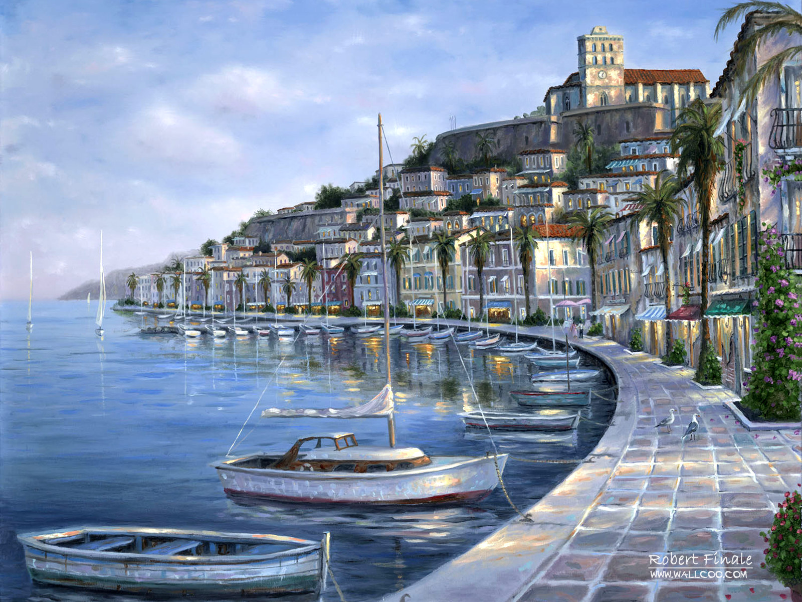 Romantic Painting the town 6382