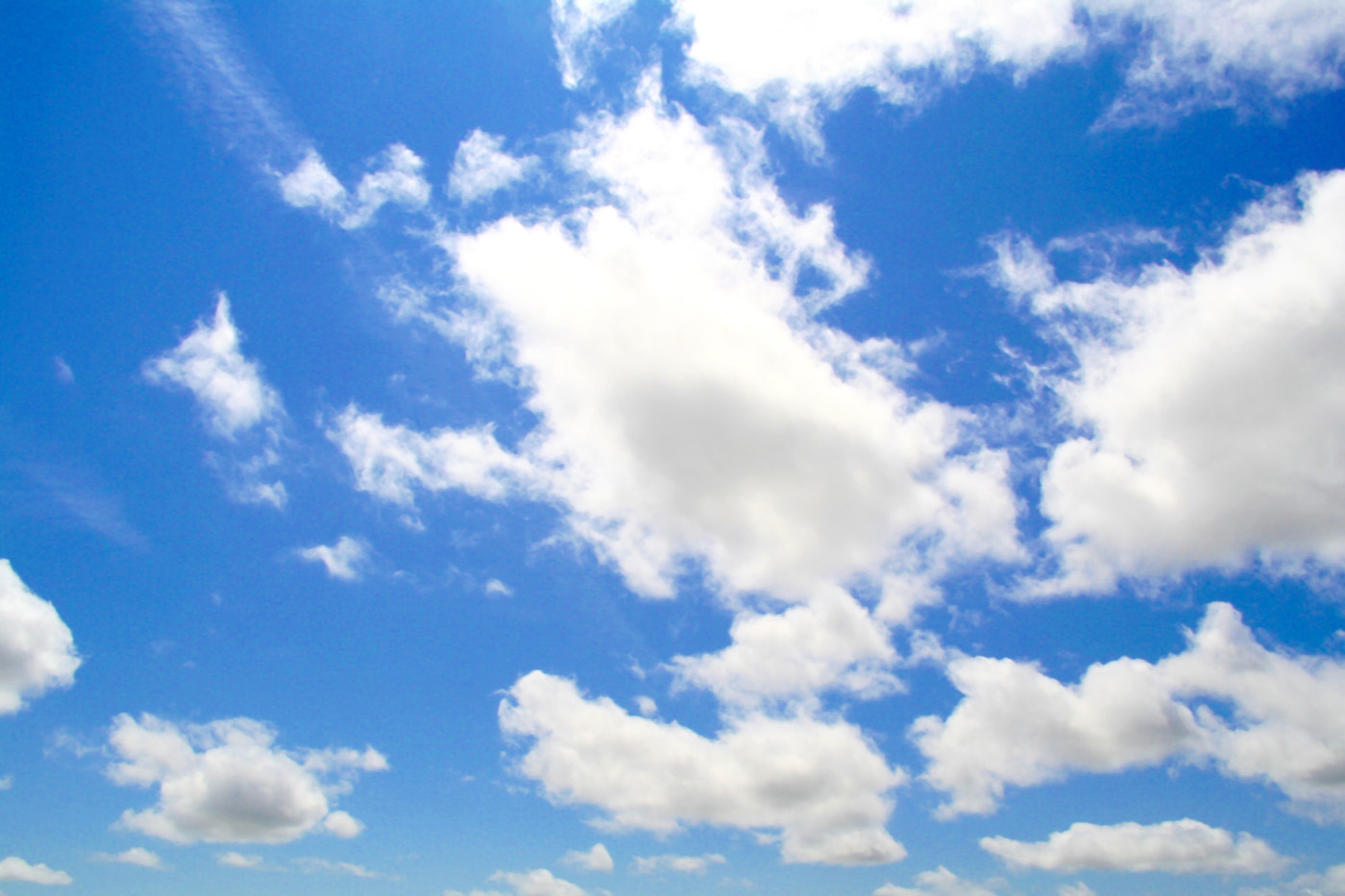 Blue sky and white clouds high definition picture 16464
