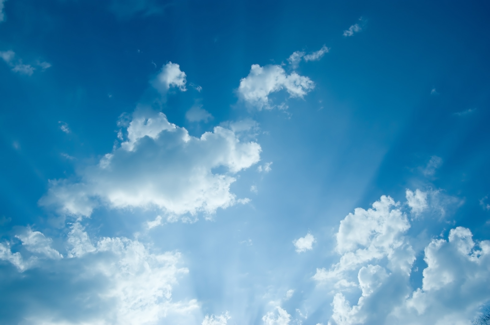 Blue sky and white clouds high definition picture 16523