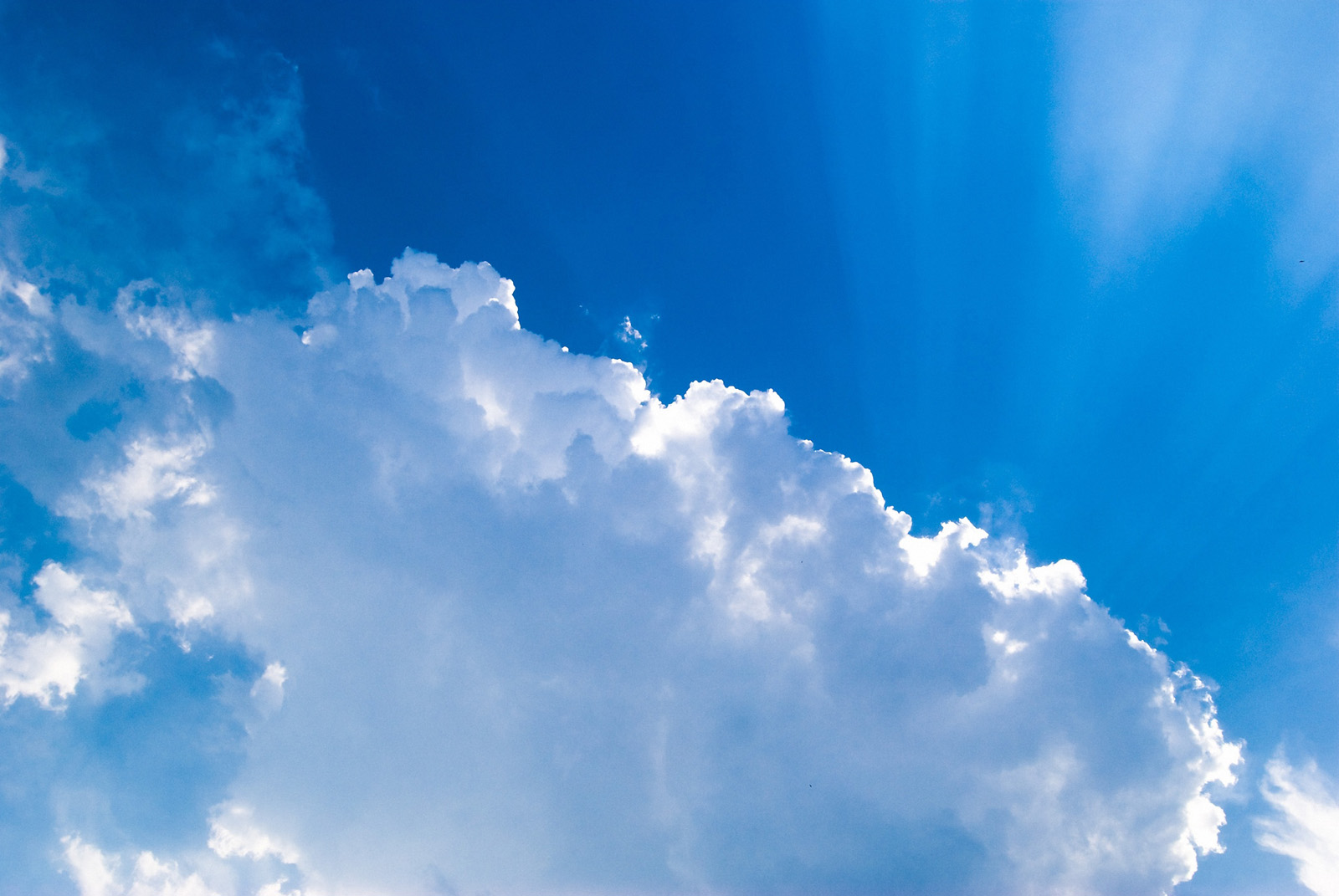 Blue sky and white clouds high definition picture 16581