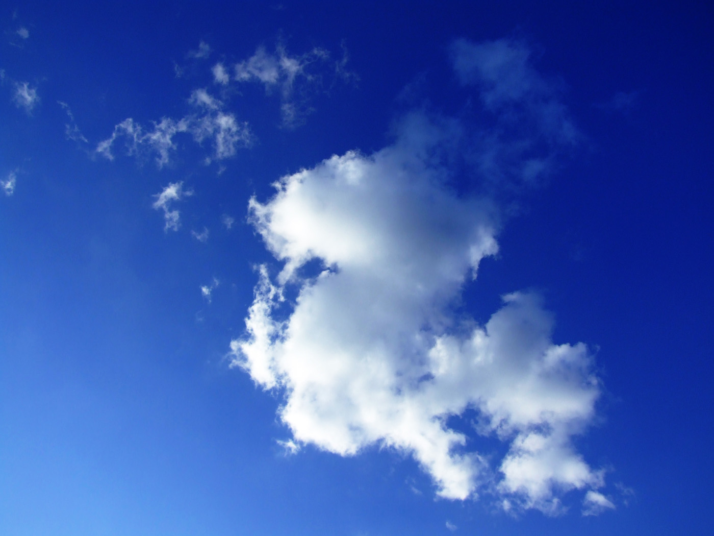 Blue sky and white clouds high definition picture 16639