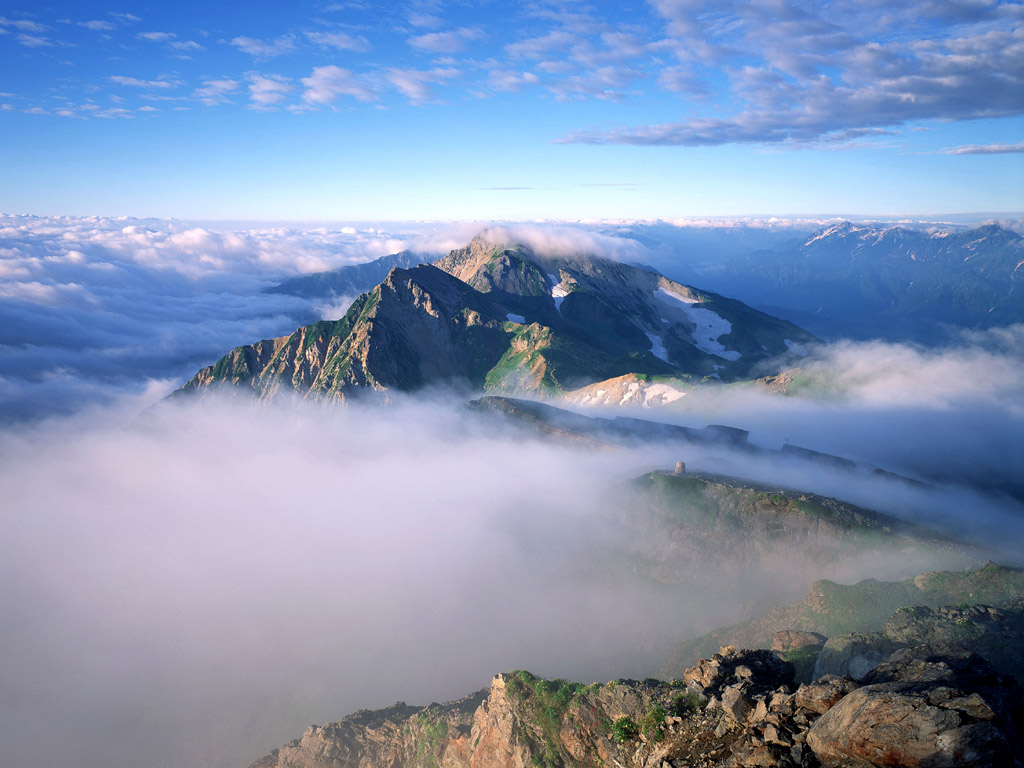 Mountain clouds 2123