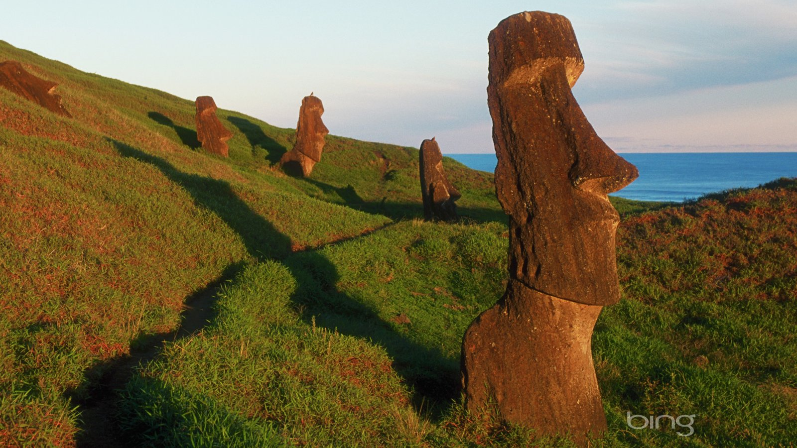 Mysterious Moai statues on Easter Island 19688