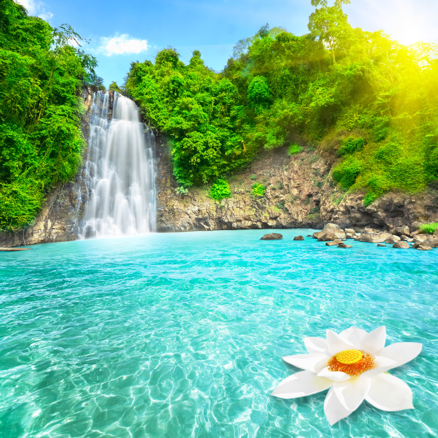 Beautiful Waterfalls Wallpapers Hd For Desktop