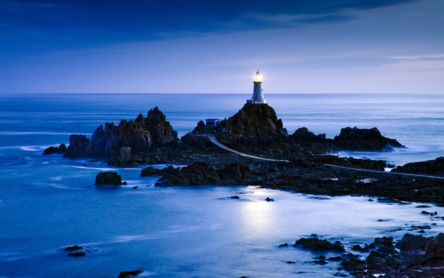 Britain's La Corbiere Lighthouse Jersey 30009