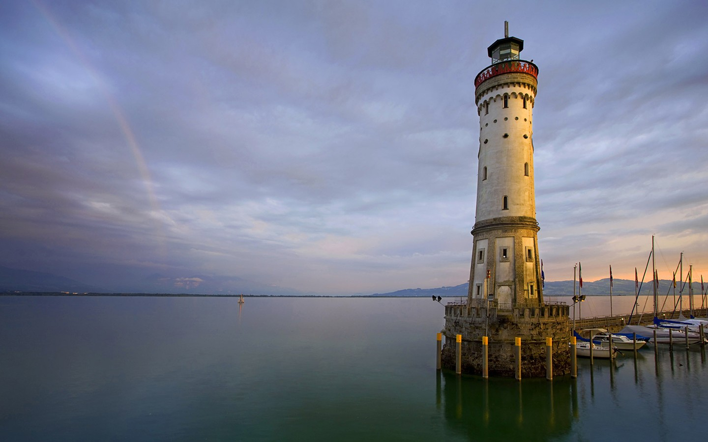 Lake Constance Germany Lindau Lighthouse on 30021