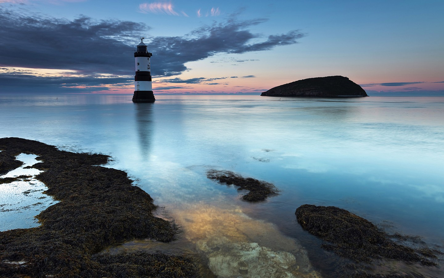 UK North Wales Brougham Lighthouse 30035