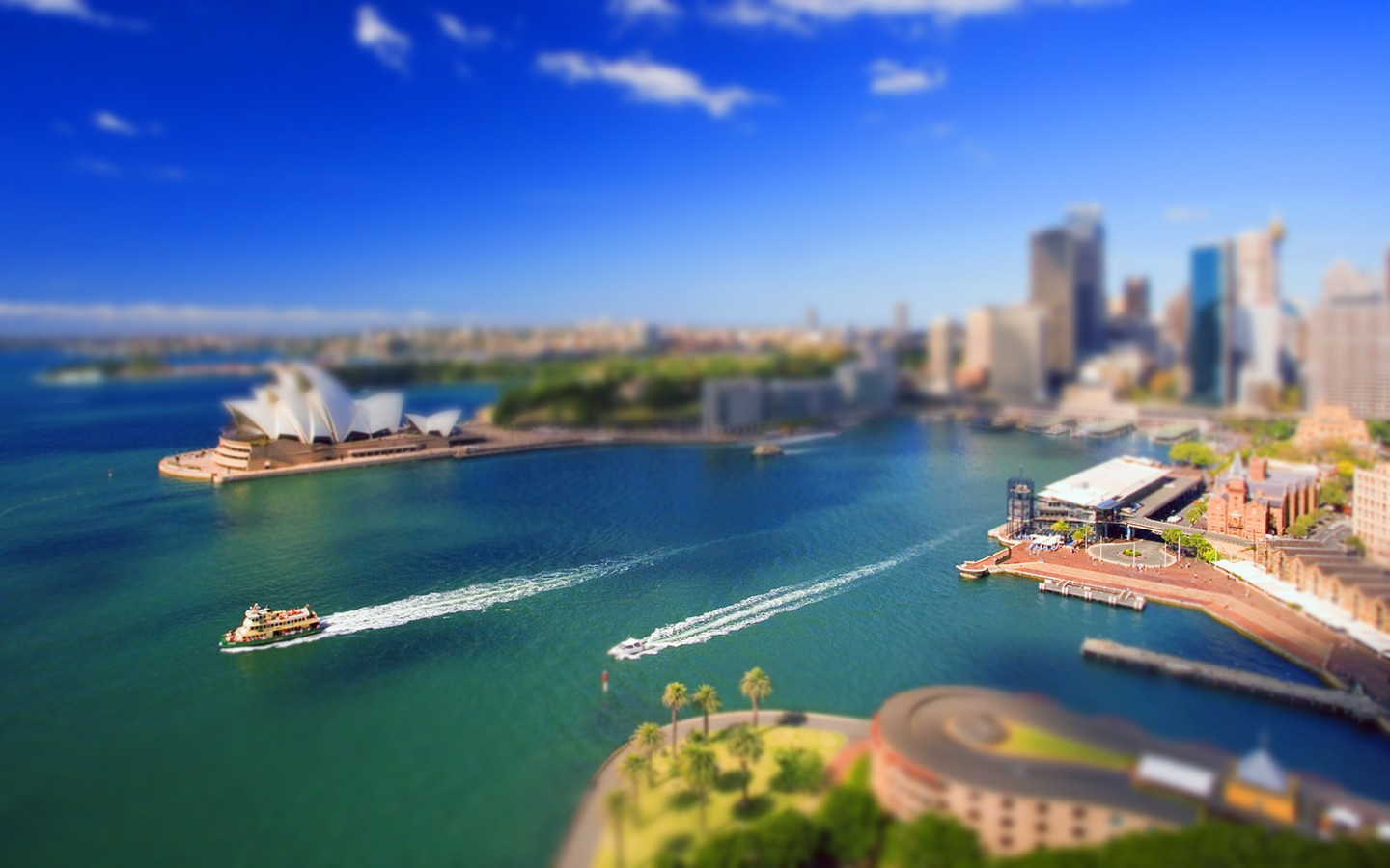 Sydney, Australia's largest city and port 29524