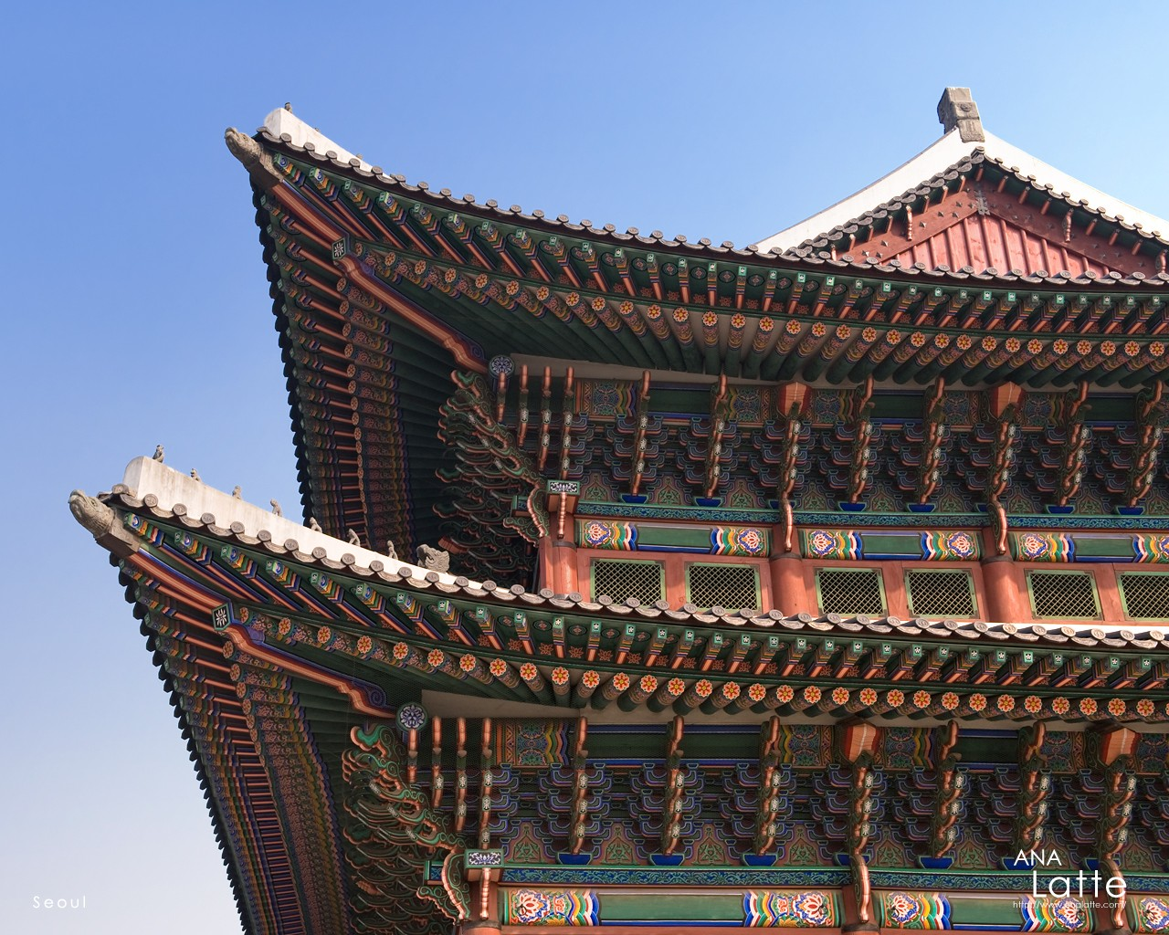 Seoul traditional architecture 30168