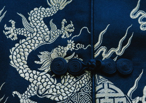 In traditional clothing textures 23411