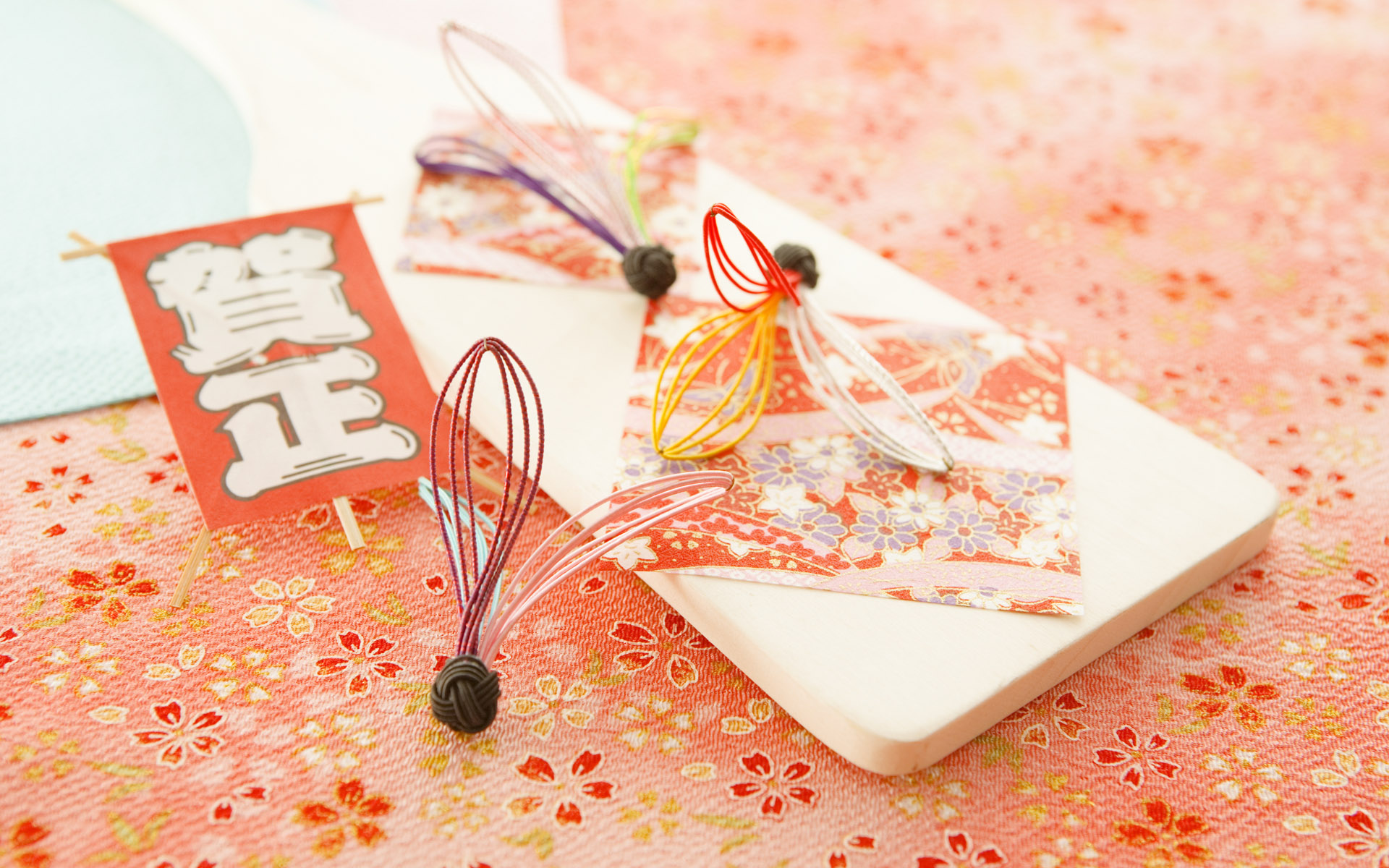 Japanese New Year and cultural material 10684