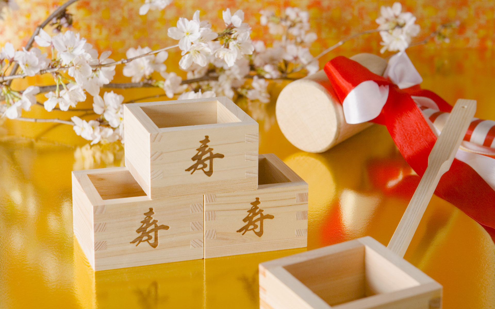 Japanese New Year and cultural material 7436