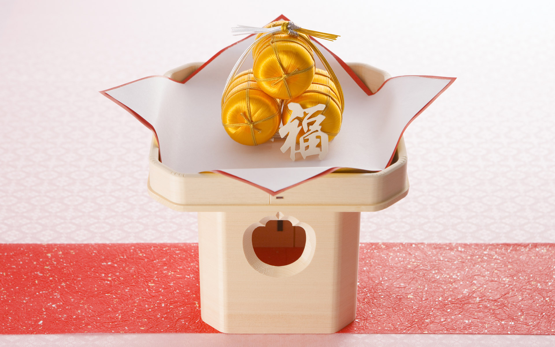 Japanese New Year and cultural material 7671
