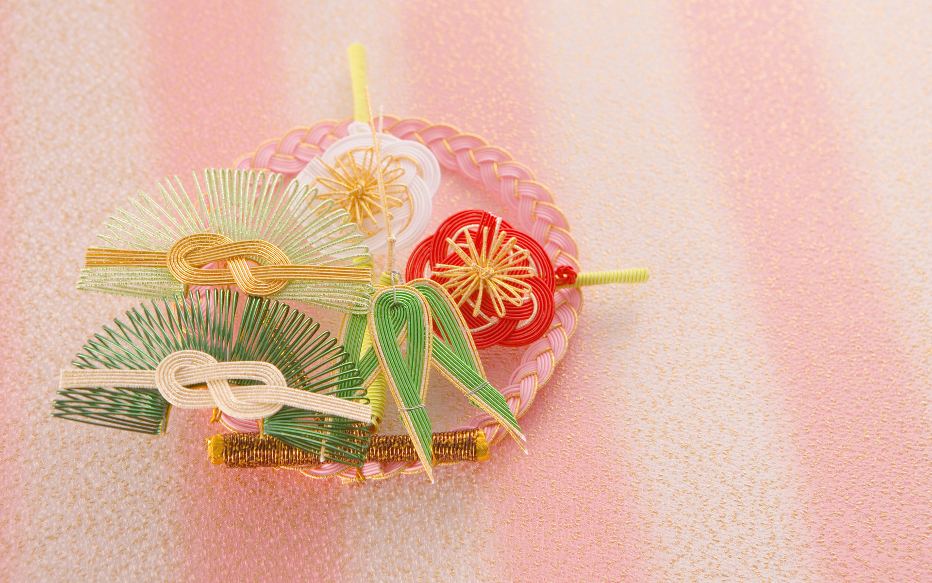 Japanese New Year and cultural material 9548