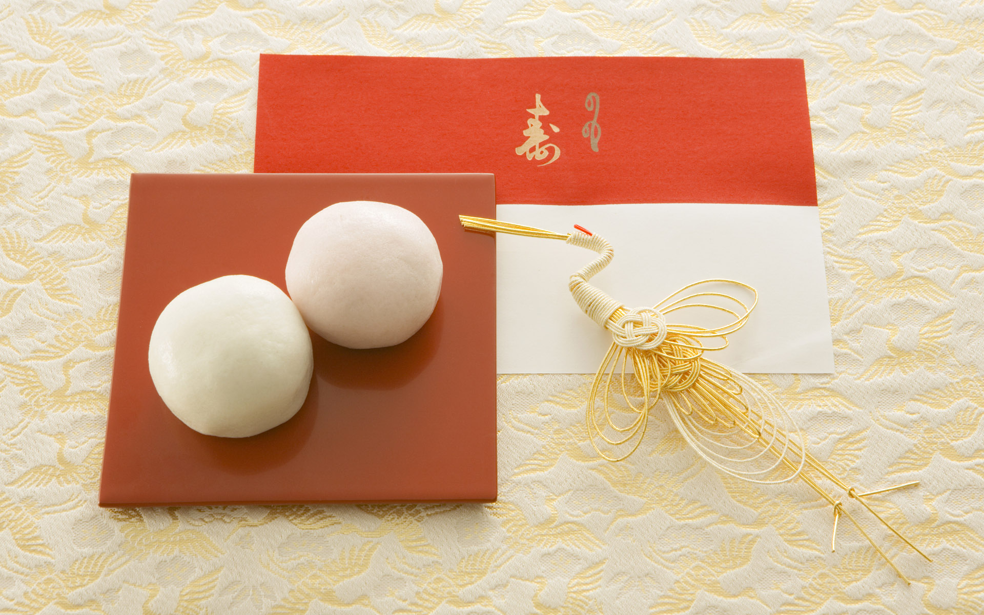 Japanese New Year and cultural material 9866