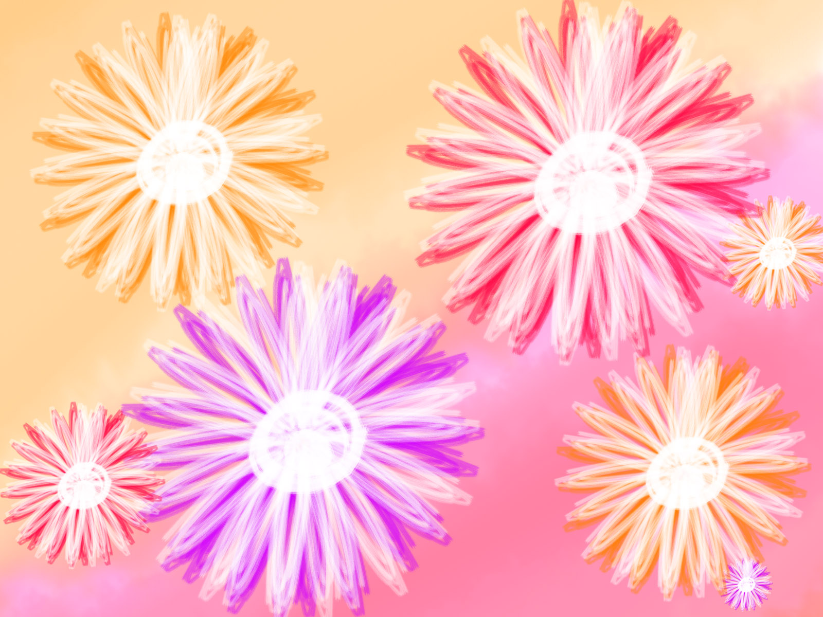 Synthetic Flower 3601