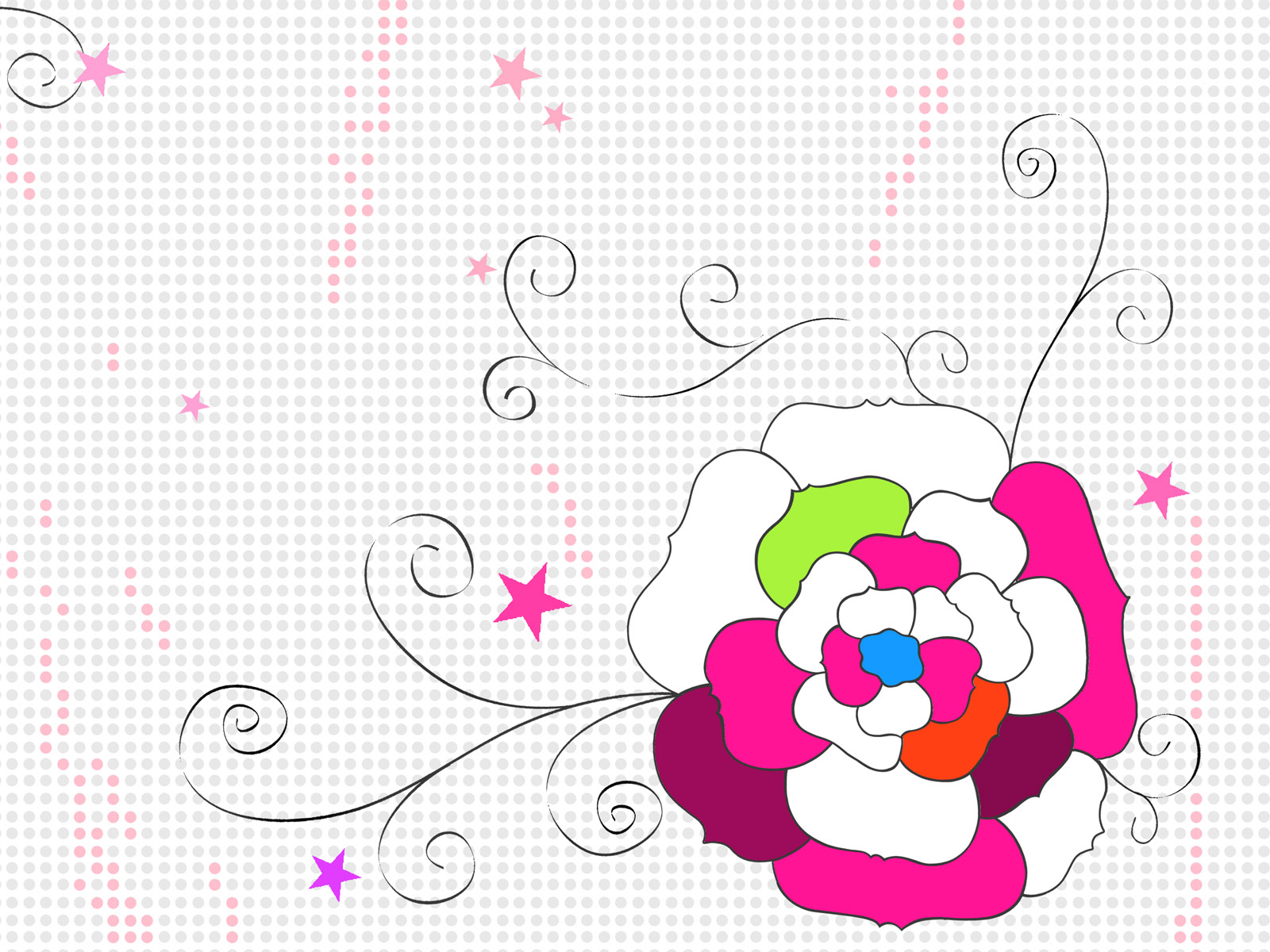 Synthetic Flower 3897