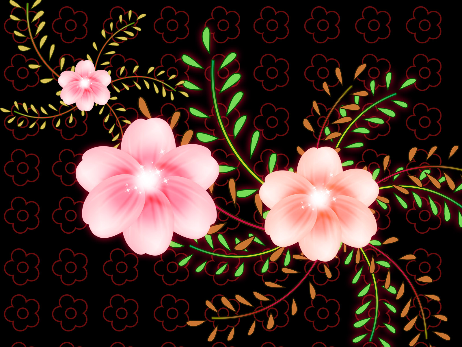 Synthetic Flower 4338