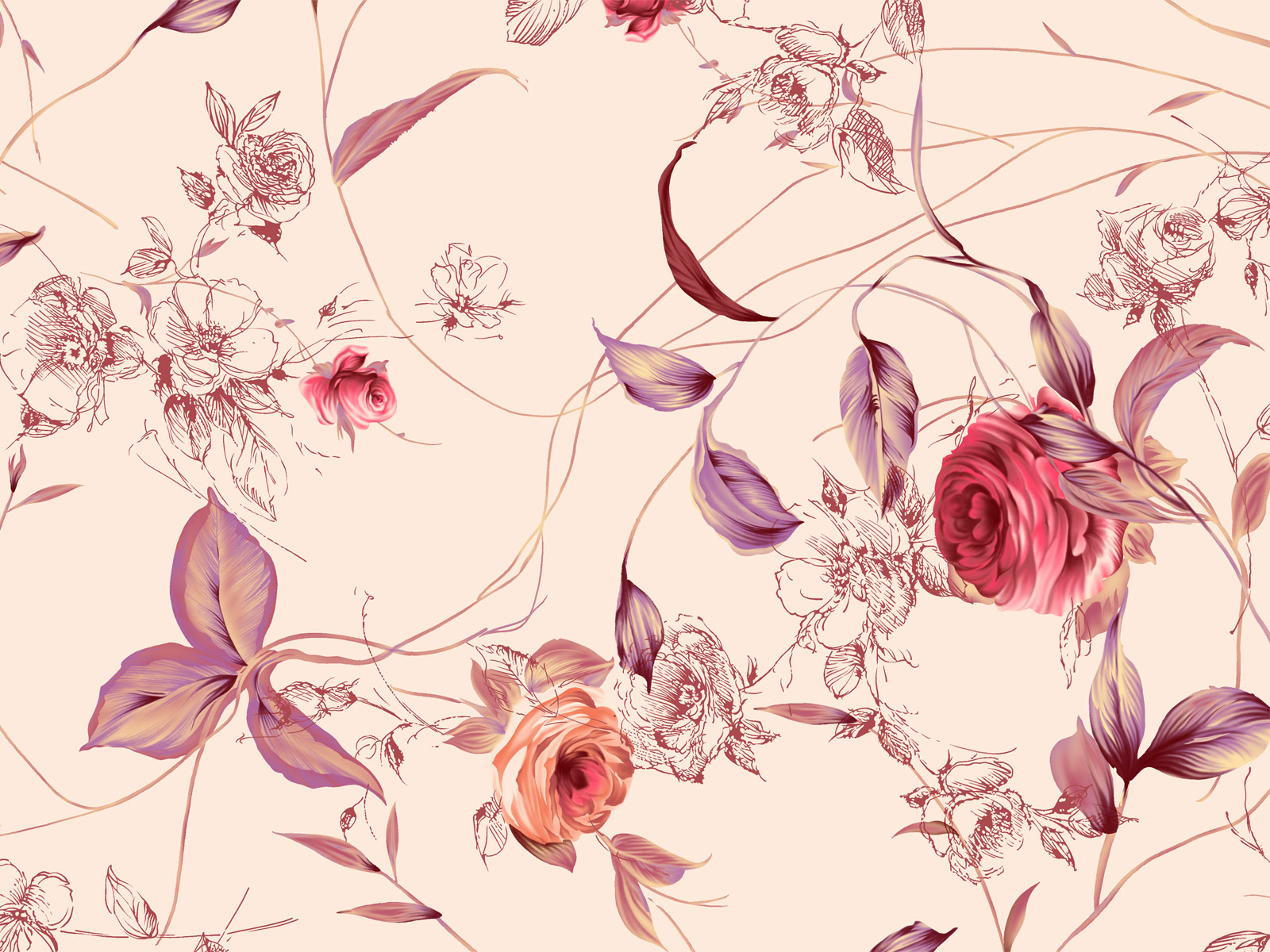 Synthetic Flower 5491