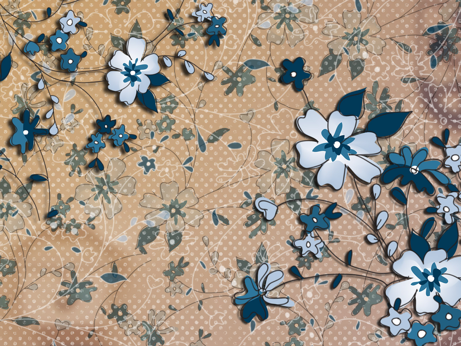 Synthetic Flower 5774