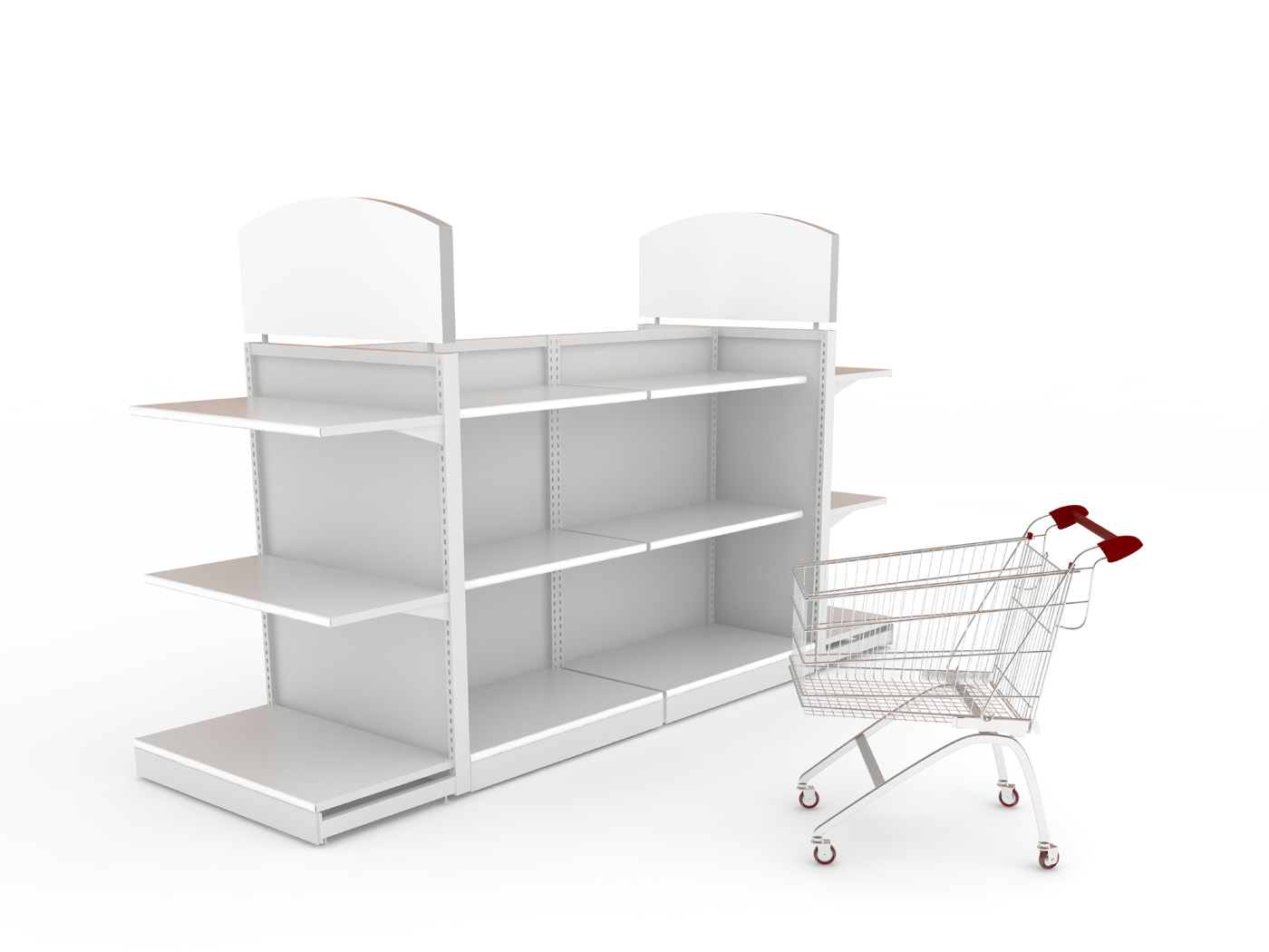 Shelf shopping cart 29791