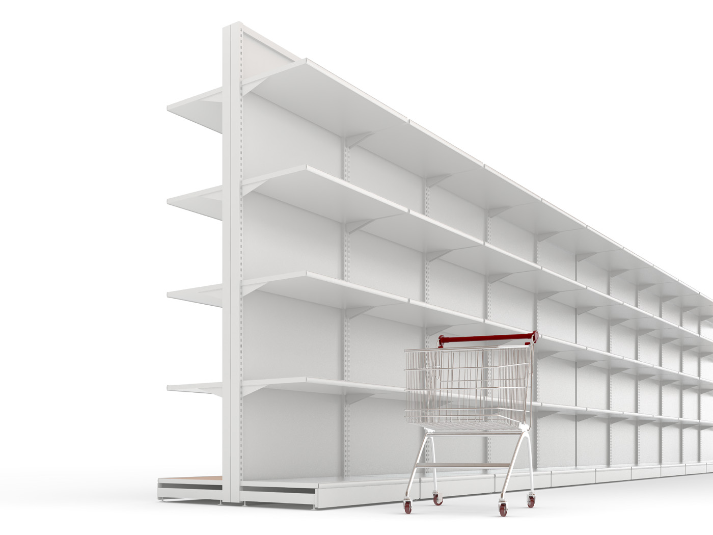 Shelf shopping cart 29796