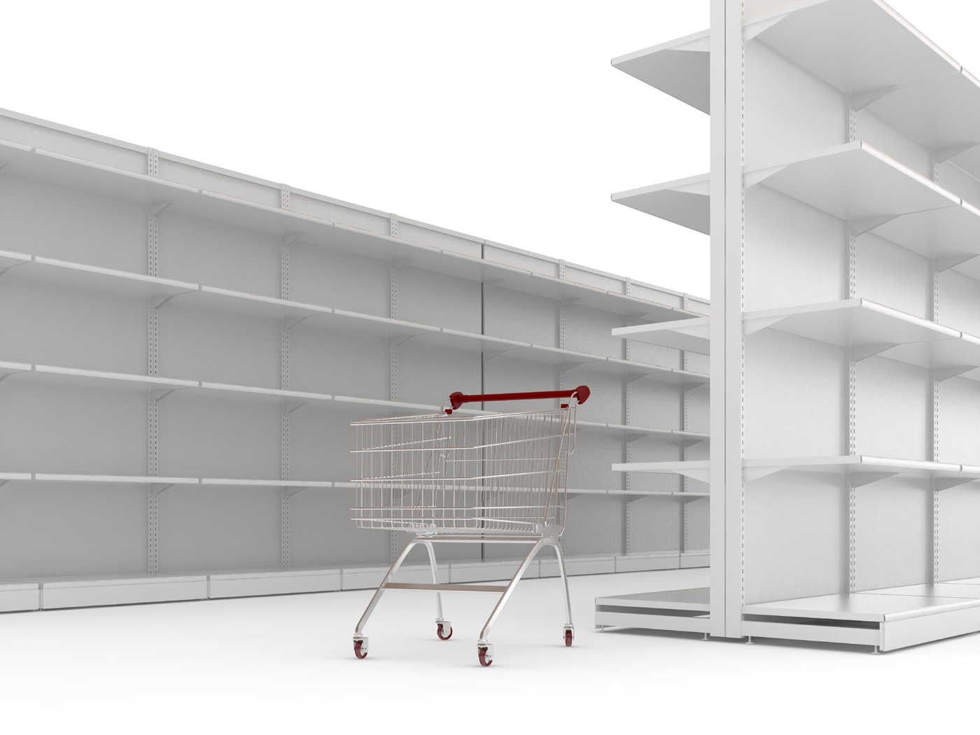 Shelf shopping cart 29806